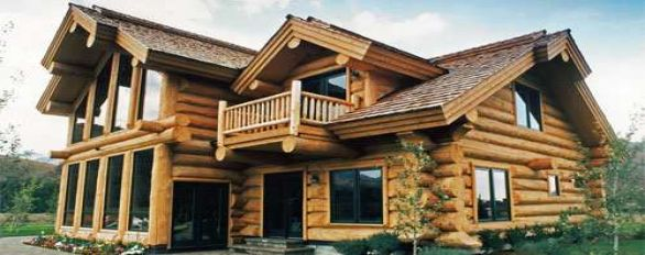 Defy exterior from log home store - Woodsman premium exterior wood care ...