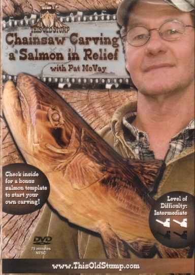 Chainsaw carving dvds from log home store