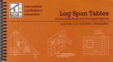 Log Span Tables In Log Home How To At Log Home Store