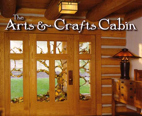 Arts crafts in log home books at log home store for Log home books