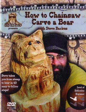 Carving books & dvds log home store building supplies and tools