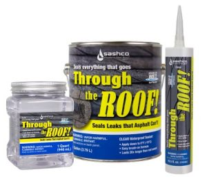 Through the Roof caulking
