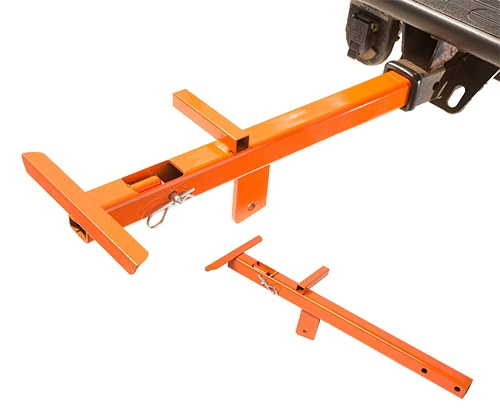 Receiver Hitch Mounting bracket for Lewis Winch